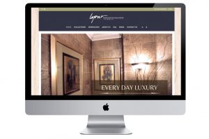 Lyons Handcrafted Wallpaper Wed design by K.Haggard Design