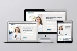 Attainable Wealth Logo, Brand & Website design by Khaggard design